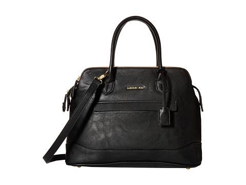 London Fog - Preston Triple Tote (Black) Tote Handbags