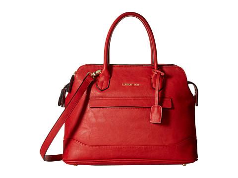 London Fog - Preston Triple Tote (Red) Tote Handbags