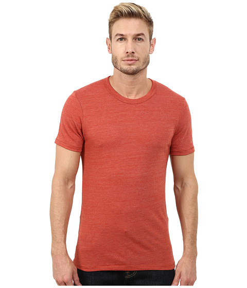 Alternative - S/S Crew Tee (Eco True Cinnamon) Men's T Shirt