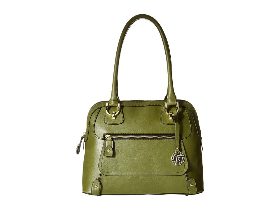 London Fog - Knightsbridge Dome (Fern) Satchel Handbags