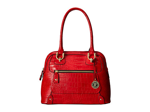 London Fog - Knightsbridge Dome (Ruby) Satchel Handbags