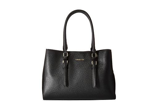 London Fog - Layla Tote (Black) Tote Handbags