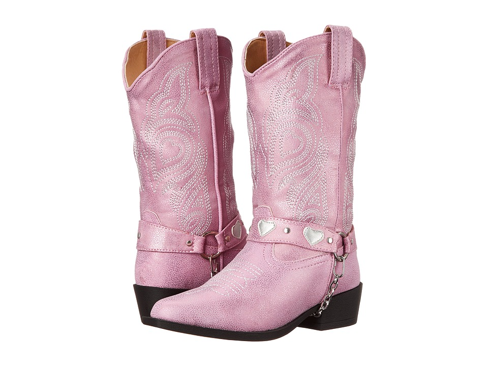 Roper Kids - Dale (Toddler/Little Kid) (Pink) Cowboy Boots