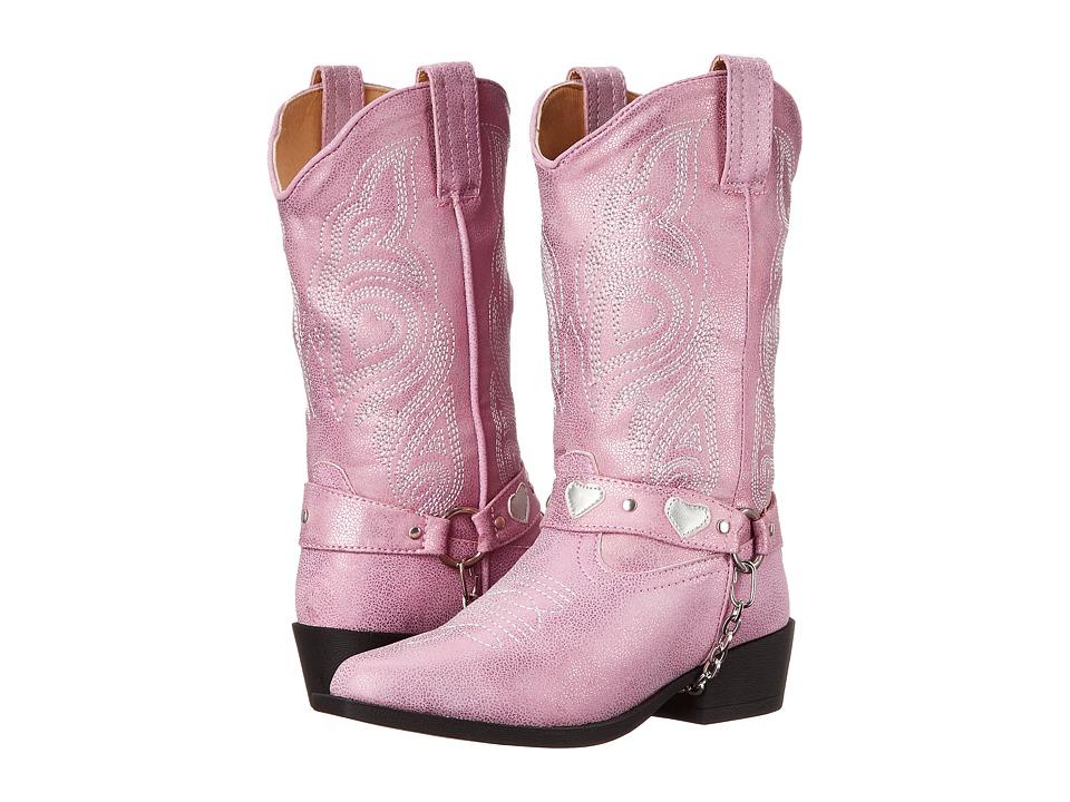 Roper Kids - Dale (Toddler/Little Kid) (Pink) Cowboy Boots