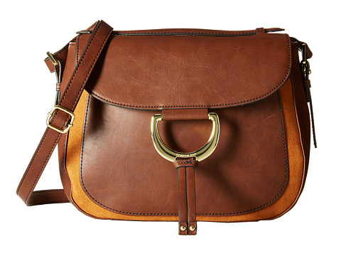 London Fog - Benson Saddle Bag (Amber) Bags