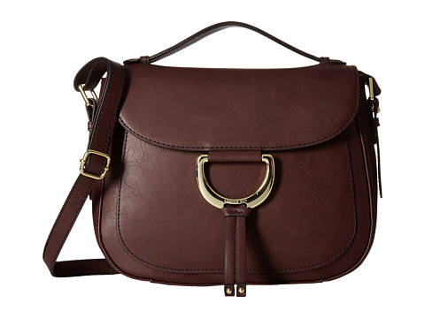 London Fog - Benson Saddle Bag (Wine) Bags