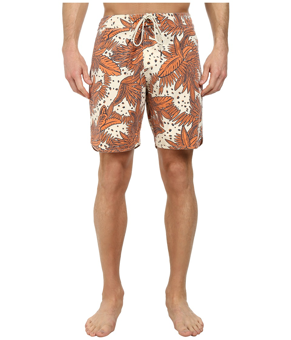 O'Neill - Santa Cruz Original Scallop Print Boardshorts (Stone) Men's Swimwear