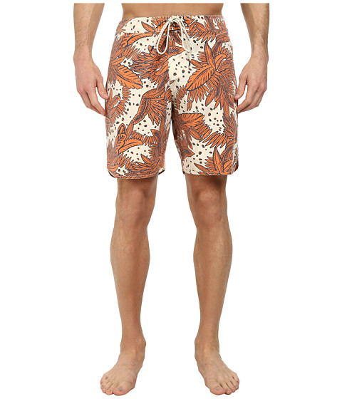 O'Neill - Santa Cruz Original Scallop Print Boardshorts (Stone) Men's Swimwear