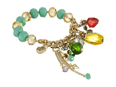 Betsey Johnson - Tutti Frutti Pineapple Half Stretch Bracelet (Multi) Bracelet
