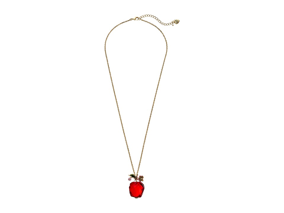 Betsey Johnson - Tutti Fruity Necklace (Red) Necklace