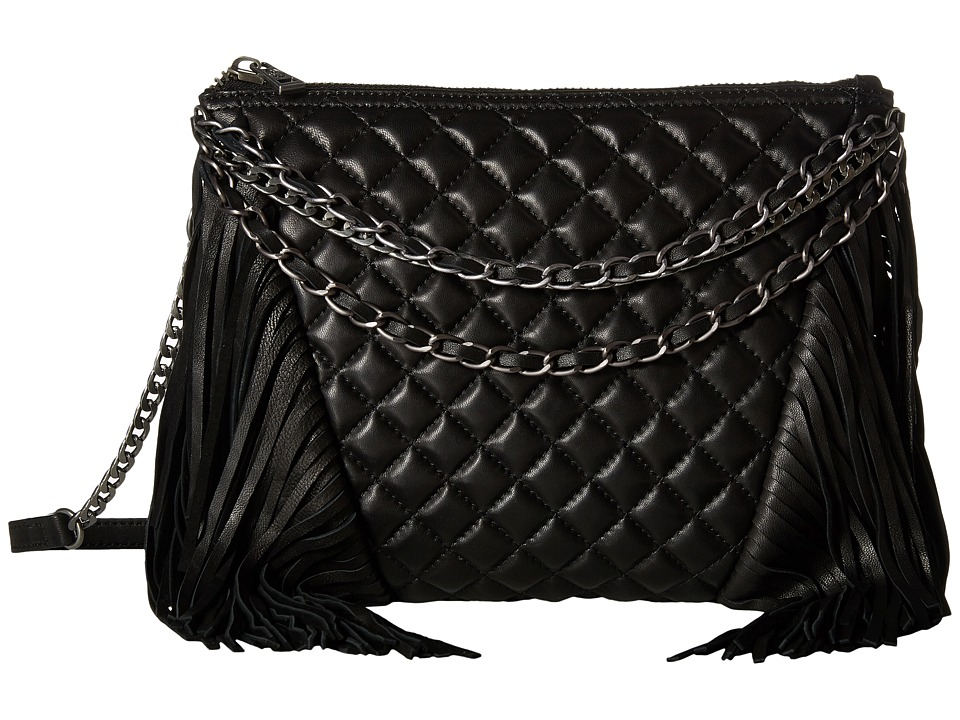 ASH - Bijou Clutch (Black) Handbags