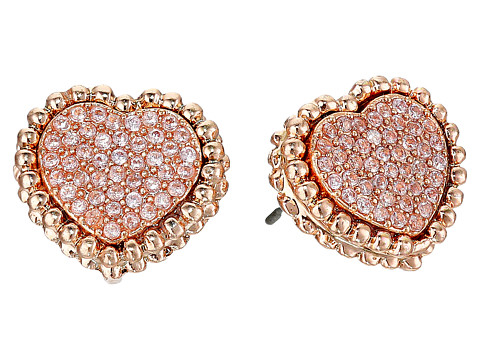 Betsey Johnson - All That Glitters Earrings (Pink) Earring