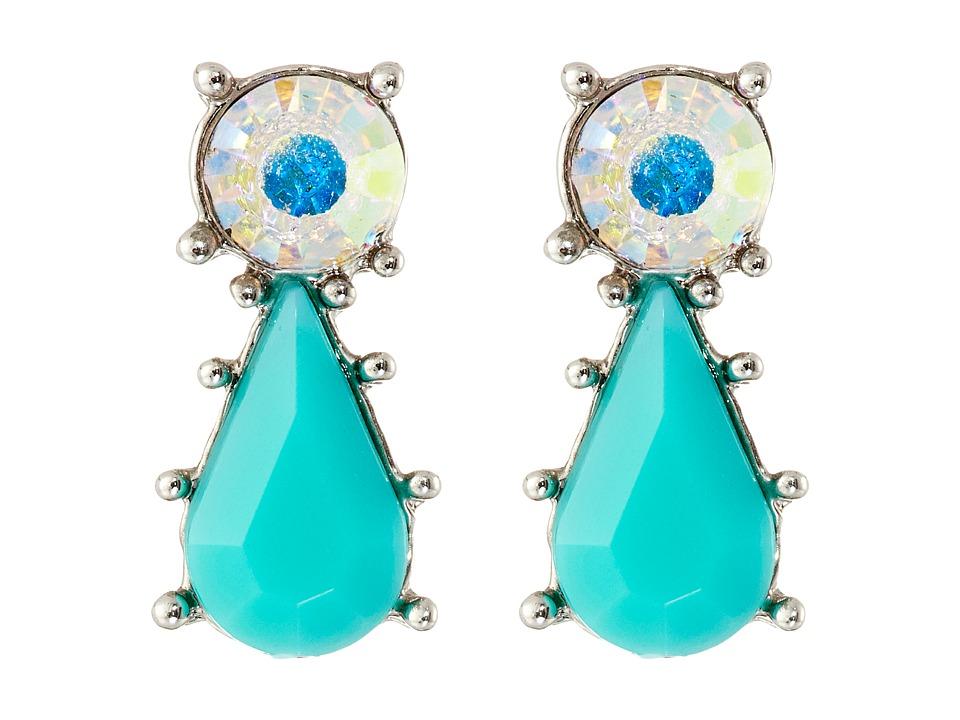 Betsey Johnson - Ocean Drive Earrings (Turquoise) Earring
