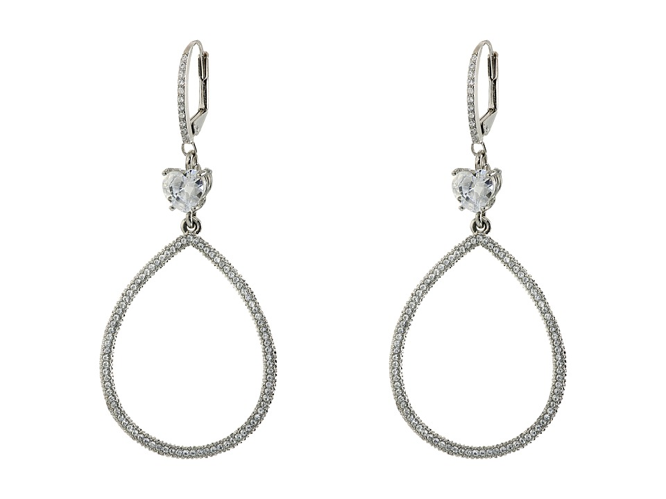 Image of Betsey Johnson - All That Glitters Earrings (Crystal) Earring