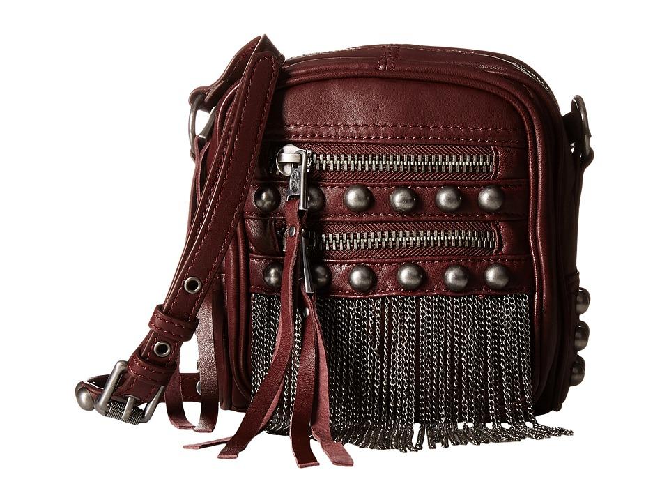 ASH - Moxy Crossbody (Dark Wine) Handbags