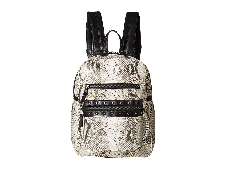 ASH - Danica Small Backpack (Natural Python) Backpack Bags
