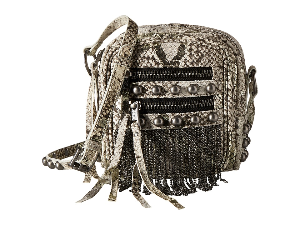 ASH - Moxy SNK Crossbody (Natural Python) Handbags