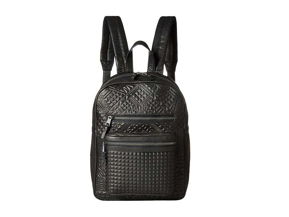 ASH - Danica Geo Small Backpack (Black) Backpack Bags