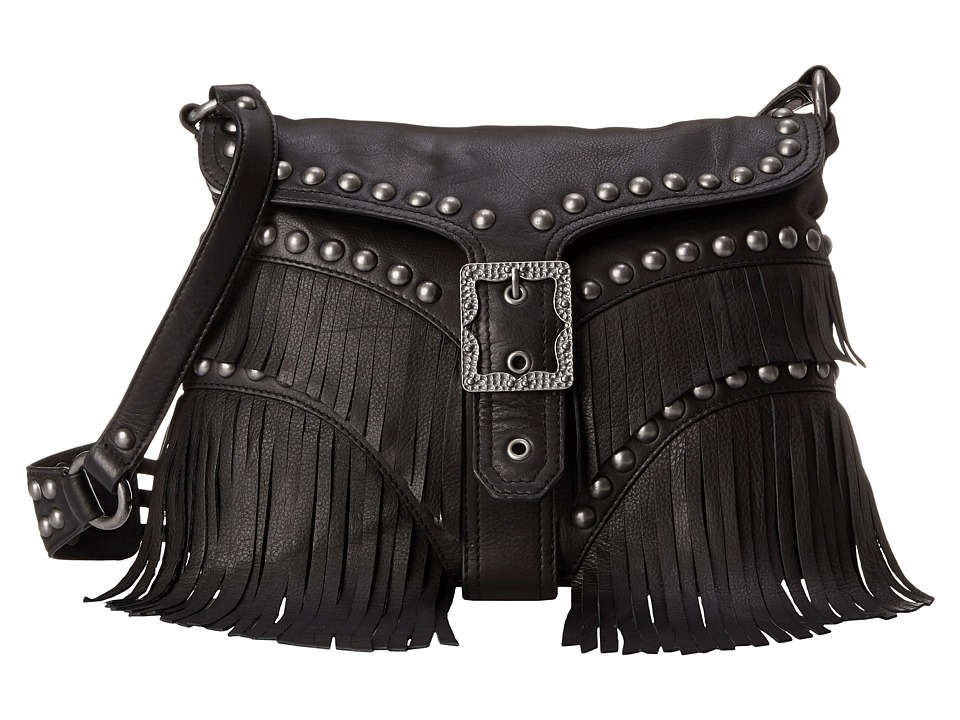 ASH - Joni Crossbody (Black) Handbags