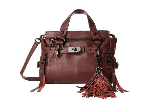 ASH - Astor Mini Satchel (Dark Wine) Handbags