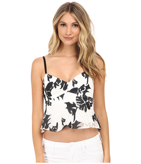 Nanette Lepore - Castaway Cami (White Multi) Women's Sleeveless