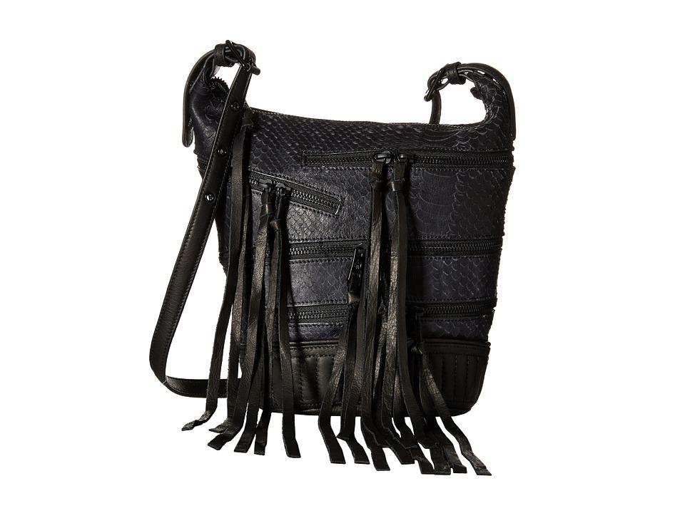 Image of ASH - Babe Crossbody (Black Snake) Handbags
