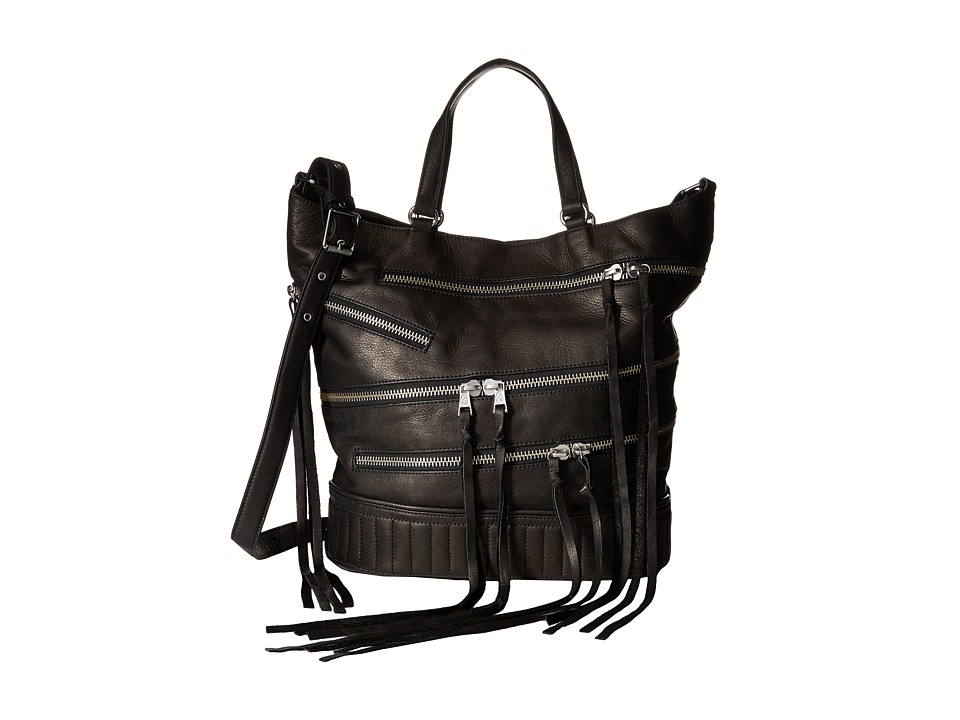 ASH - Babe Large Tote (Black) Handbags