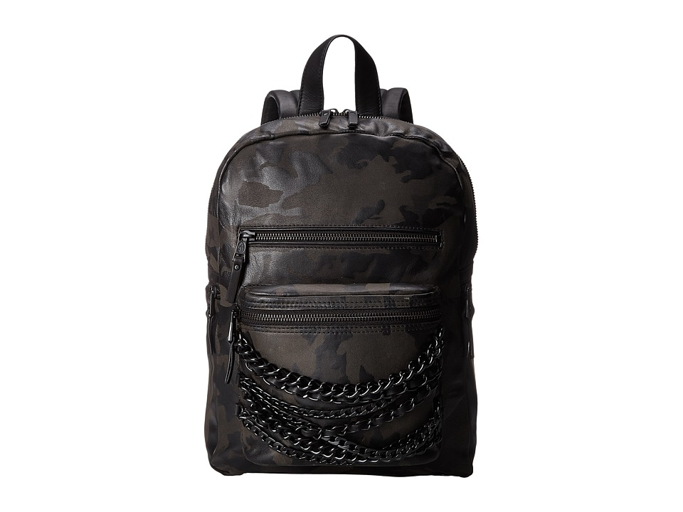 ASH - Domino Small Backpack (Black Camo) Backpack Bags