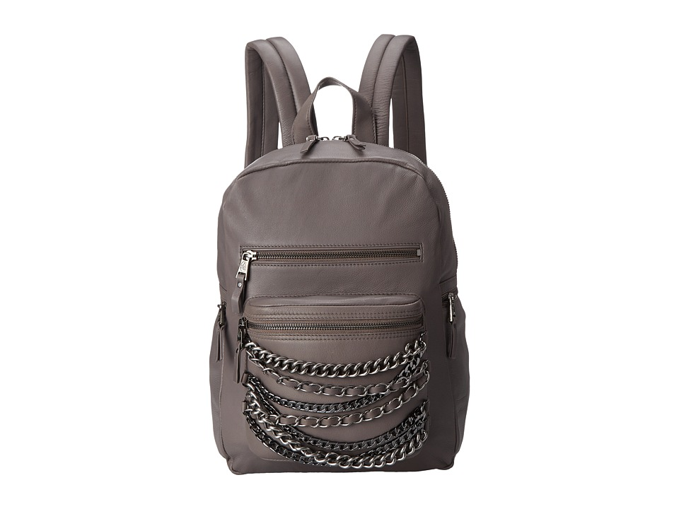 ASH - Domino Chain- Small Backpack (Elephant/Tarnish Silver/Matte Gold) Backpack Bags