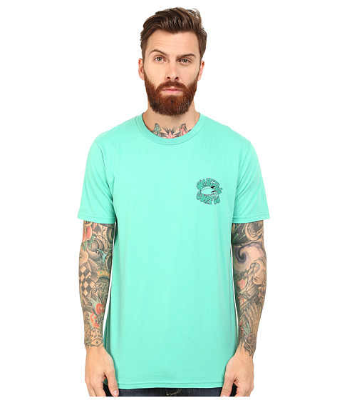 O'Neill - Dig It Short Sleeve Screens Impression T-Shirt (Jade) Men's Short Sleeve Pullover