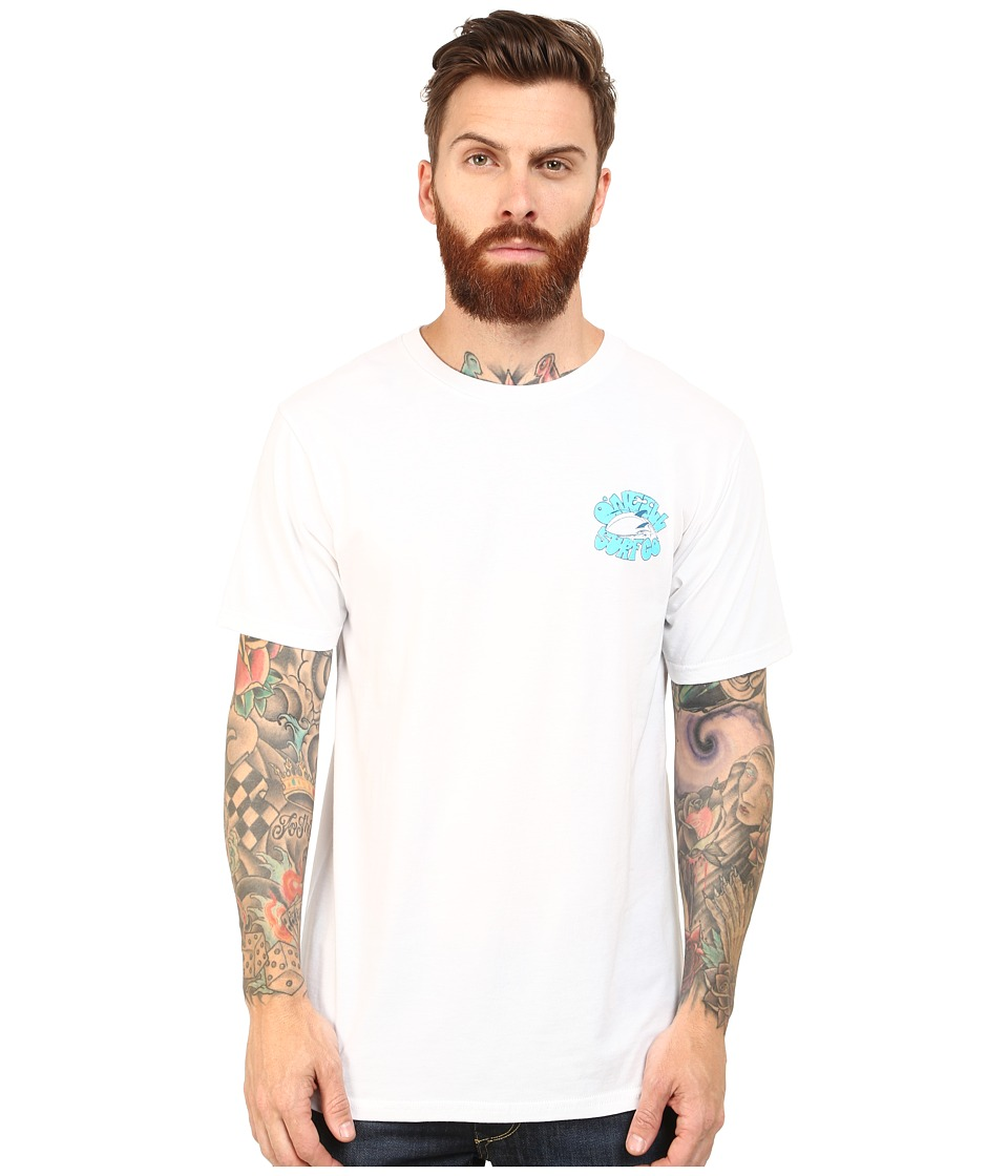 O'Neill - Dig It Short Sleeve Screens Impression T-Shirt (White) Men's Short Sleeve Pullover
