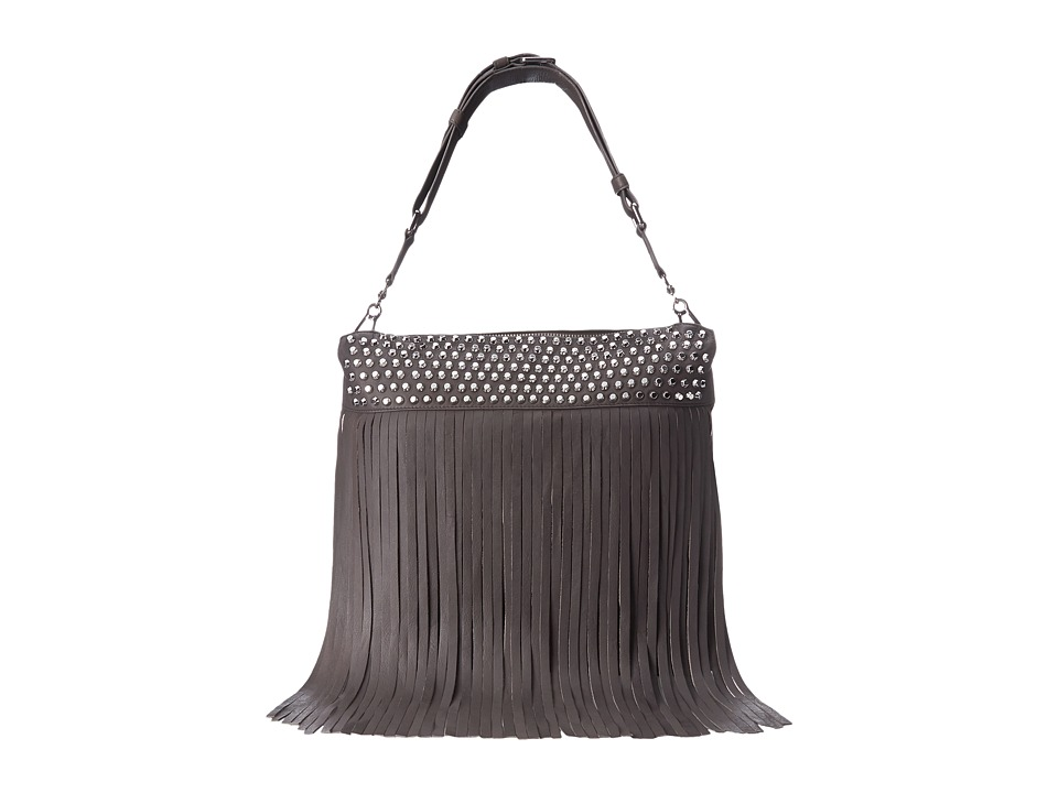 ASH - Zappa Crossbody (Elephant/Shiny Nickel) Handbags