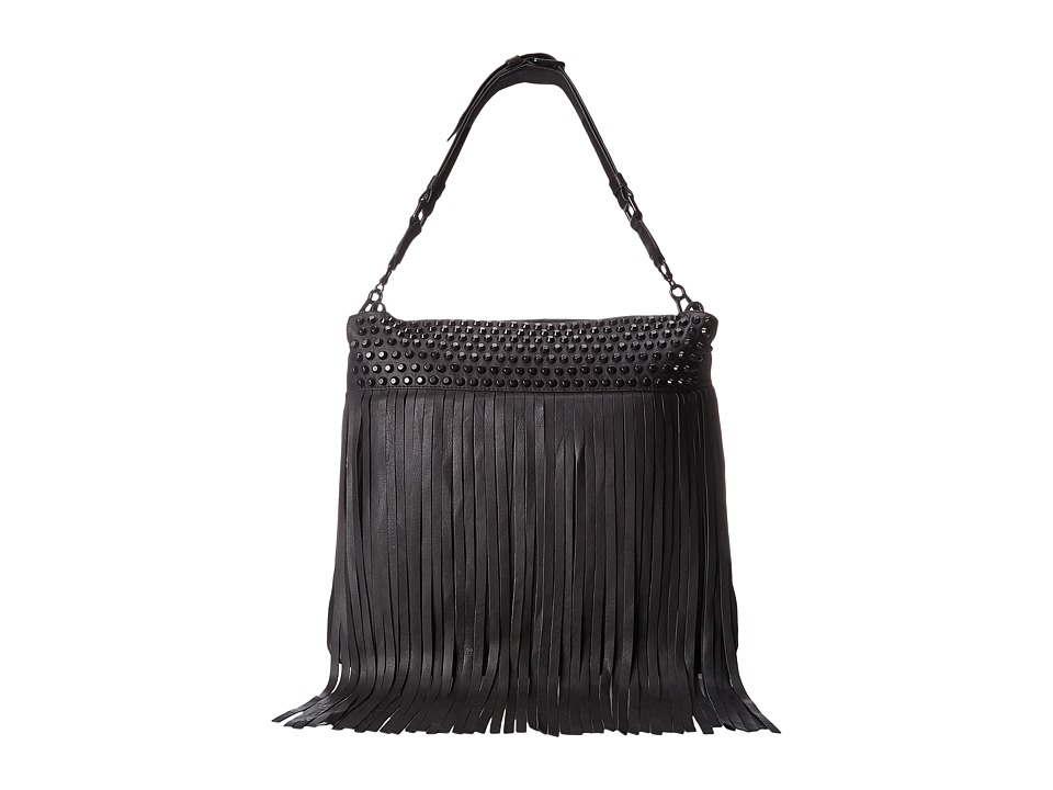 ASH - Zappa Crossbody (Black/Black Matte) Handbags