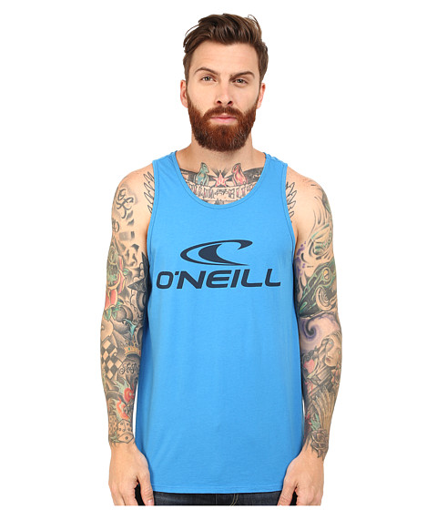 O'Neill - One Screens Impression Tank Top (Bright Blue) Men's Sleeveless