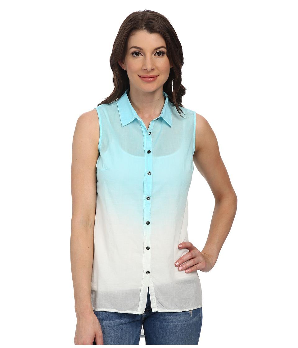 Mavi Jeans - Sleeveless Shirt (Light Green) Women's Sleeveless