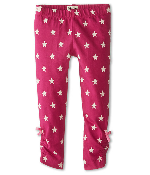 Hatley Kids - Stretch Jersey Leggings - Magenta Stars (Toddler/Little Kids/Big Kids) (Pink) Girl