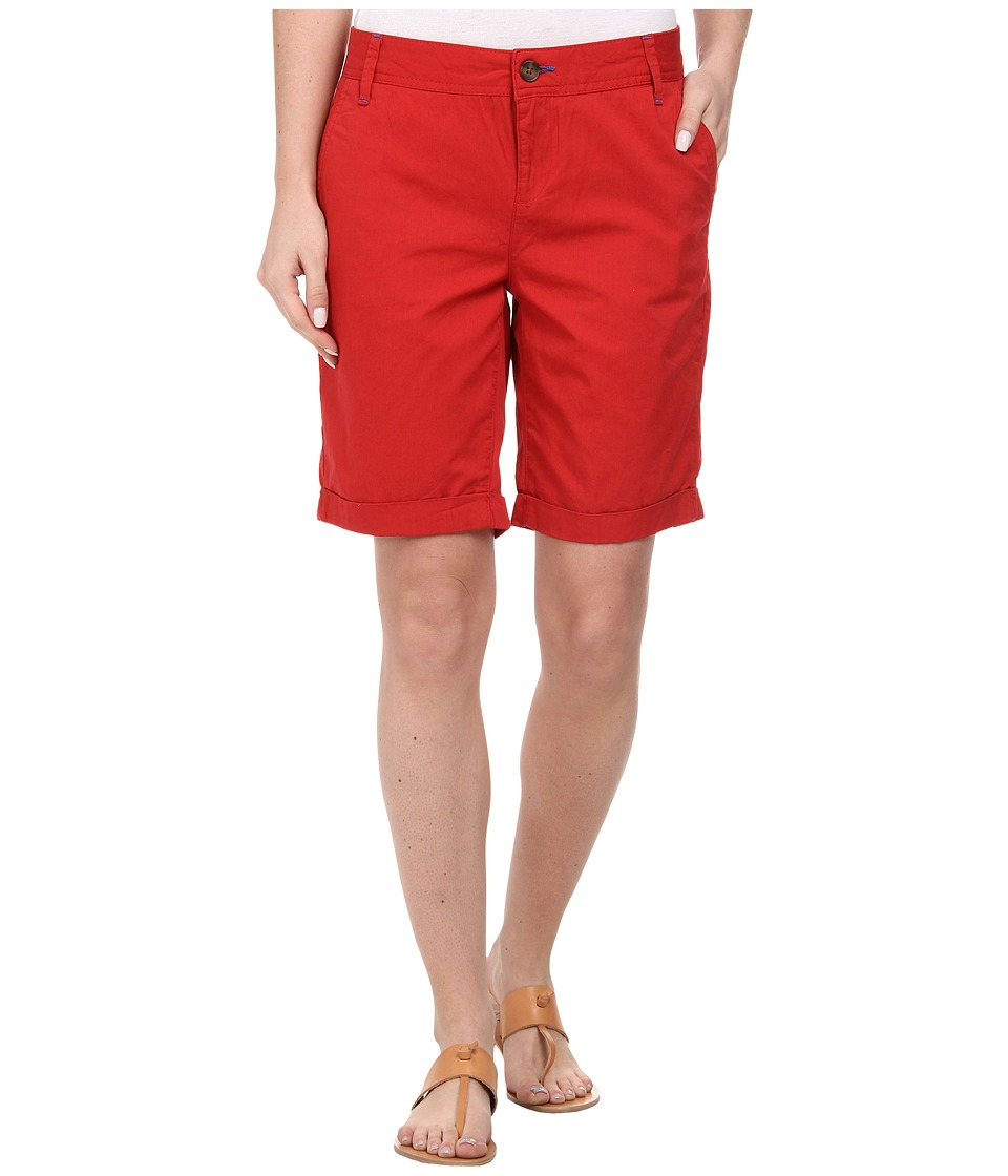 Mavi Jeans - Gabardine Shorts (Bright Red) Women