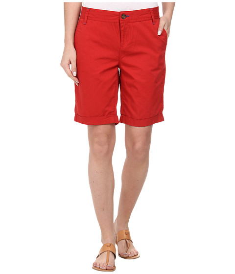 Mavi Jeans - Gabardine Shorts (Bright Red) Women's Shorts