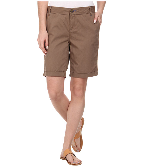 Mavi Jeans - Gabardine Shorts (Brown) Women