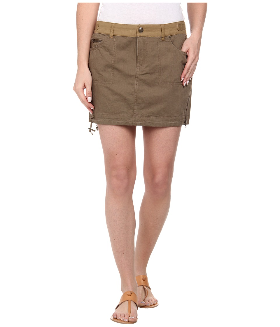 Mavi Jeans - Safari Skirt (Brown) Women