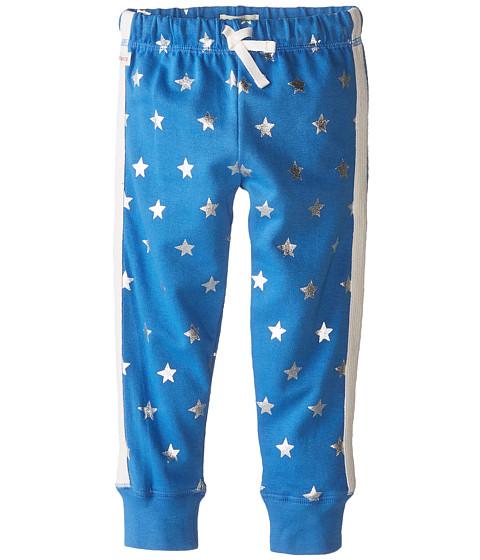Hatley Kids - Track Pants - Silver Stars (Toddler/Little Kids/Big Kids) (Blue) Girl's Casual Pants