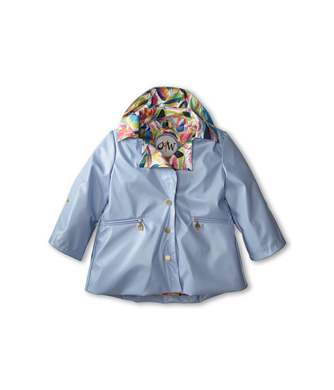 Oil & Water - Swing Coat (Toddler/Little Kids/Big Kids) (Kentucky Blue) Girl's Coat
