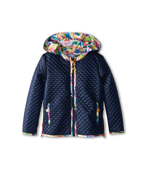 Oil & Water - Easton Jacket (Toddler/Little Kids/Big Kids) (Navy) Girl's Coat