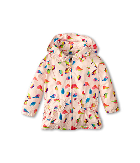 Oil & Water - Frills Windbreaker (Toddler/Little Kids/Big Kids) (Pink Rain) Girl's Coat