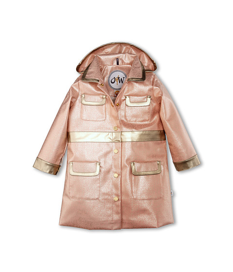Oil & Water - City Coat (Toddler/Little Kids/Big Kids) (Dusted Pink/Platinum) Girl