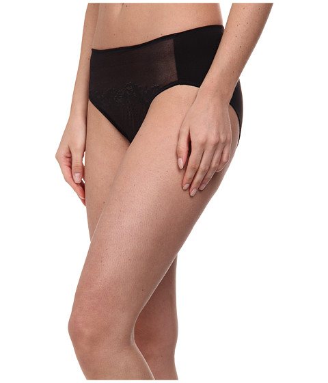 Natori - Smooth Scroll Bikini (Black) Women's Underwear