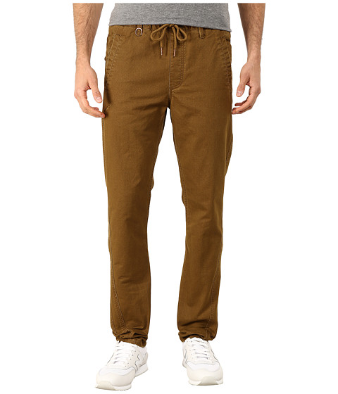 Publish - Reece Stone Washed Classic Fit Pants (Khaki) Men's Casual Pants