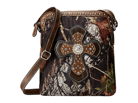 M&F Western - Mossy Oak Crossbody (Mossy Oak) Cross Body Handbags