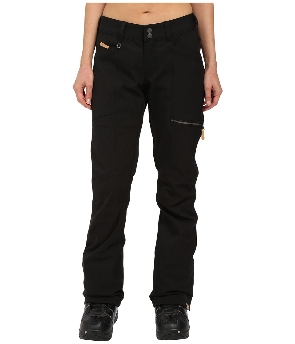 Roxy - Cabin Snow Pants (Anthracite) Women