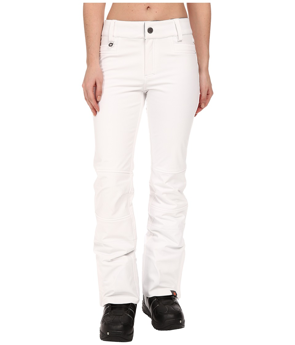 Roxy - Creek Snow Pants (Bright White) Women